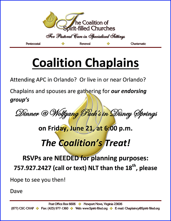 The Coalition of Spirit-Filled Churches